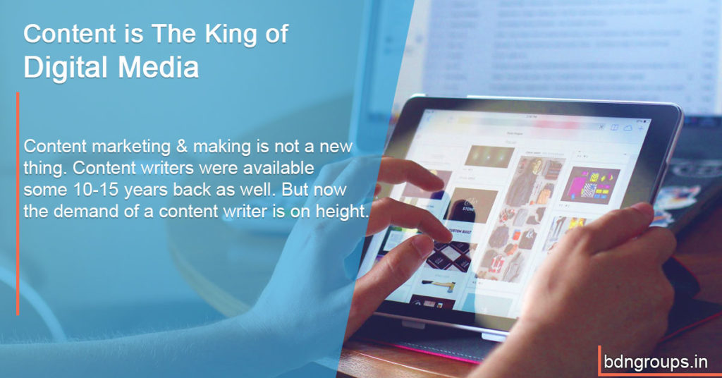 Content is The King of Digital Media