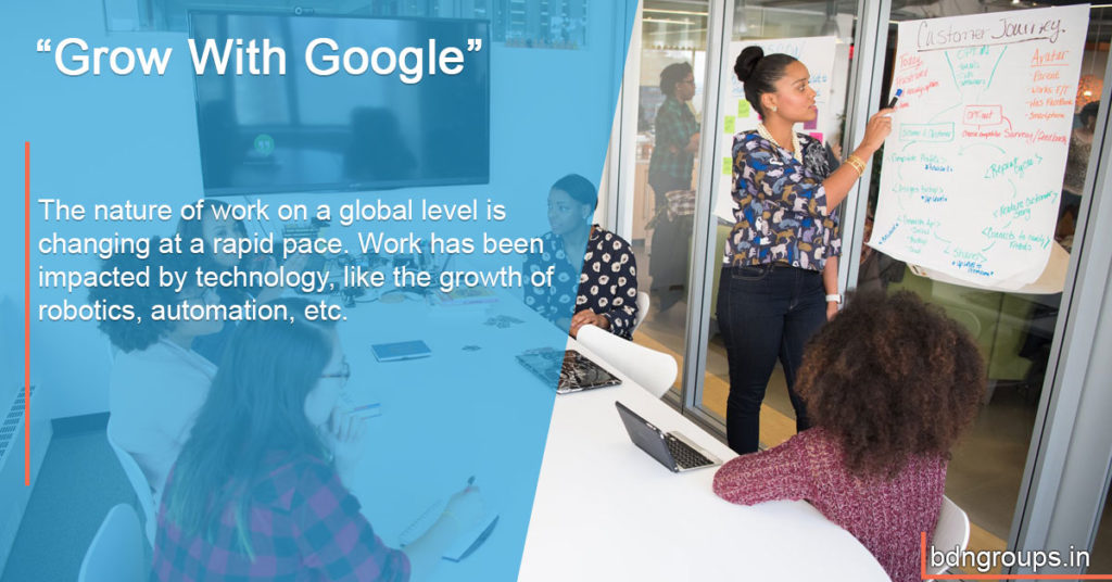 "Google announces ""Grow With Google"" initiative with $1 billion commitment to tech education"