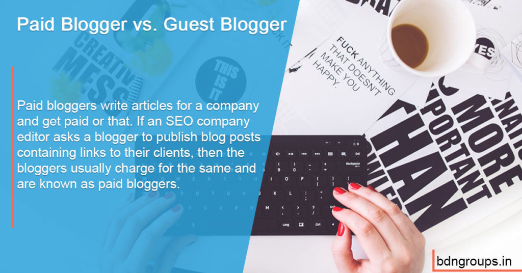 Paid Blogger vs. Guest Blogger